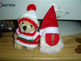 Санта Клаус - виз сзади