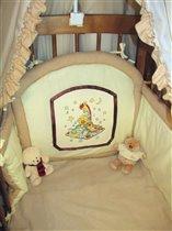 Бортик детской кроватки