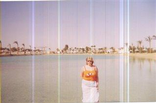 В Египте на пляже