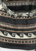 Низ свитера с ламами.