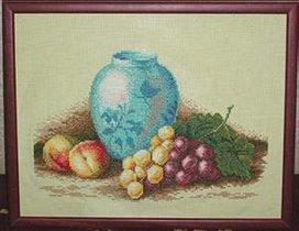 Голубая ваза