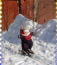 Не боюсь мороза я-ждет давно меня лыжня!