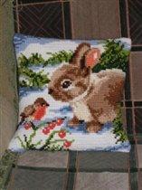 Кролик и птичка