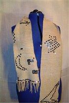 другая сторона шарфа