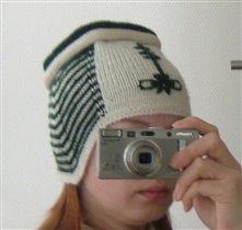 шапочка с вышивкой