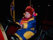 Даша-будущий водитель