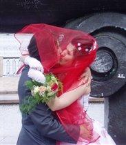 наш свадебный поцелуй