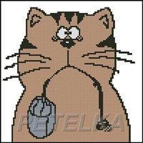 Кот с мышой