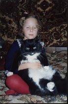 Наш котяра:))