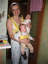 Это я, Тюша и Машулька (korolka))
