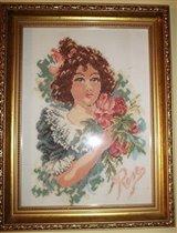Dziewczynka z różami
