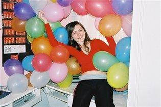 Лерка в день своего 14-летия