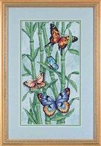 Butterflies and bamboo