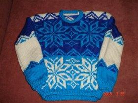 свитер для старшего сына