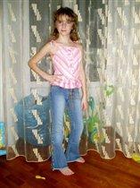 Катя в одежде 'от Плисканос' ;)