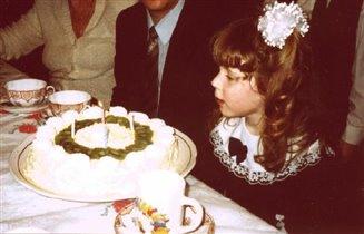 торт 'Киви' для дочки