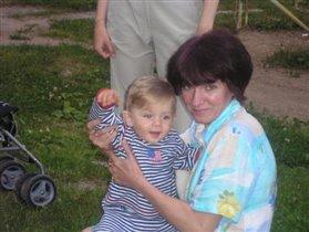 Внучок и Бабуля