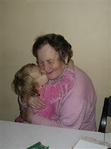 Ксюх с прабабушкой