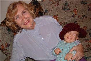 Данилка с прабабушкой