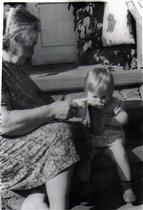 Бабушка маша и я ... почти 30 лет назад