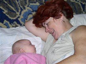 Я и моя бабулечка :)