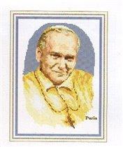 John Paul II (in yellow)