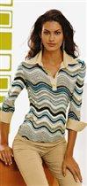 Полуспортивная блузка