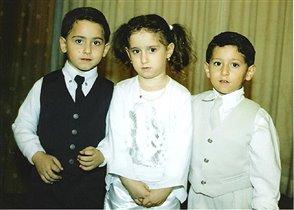 Тройняшки из Израиля