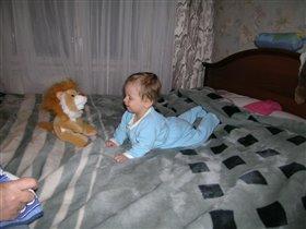 два львенка