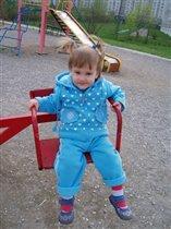 Маленькая модница:)