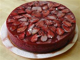 торт 'Клубничное 'безобразие'