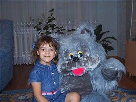 Я и мой любимый зверь.