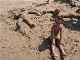 супер-скульптуры на песке