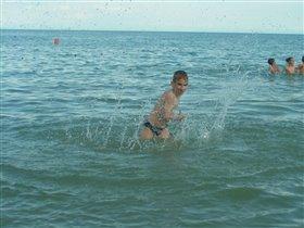 Евпатория. На море.