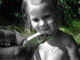 Маленький, зеленый... Крокодил?