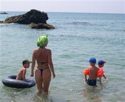 Чёрное море Болгария август 2005