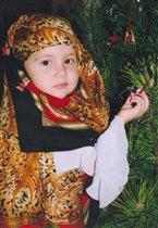 Новый год 2005, восточная девушка