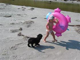 Не трогай моего бегемота! Я на нем плаваю!
