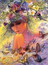 Девушка-бабочка