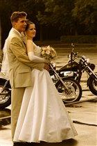 в день свадьбы на смотровой