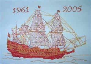 Кораблик из 'Вышитых картин'
