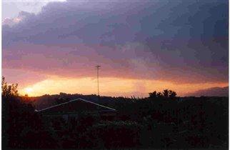 Закат в Сухуми