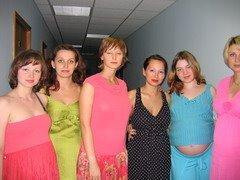 показ мод беремчатых в ОЛИМПИЙСКОМ 01 июня 2005