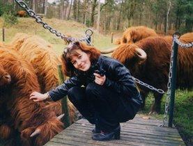 Что может быть лучше бега от разьяренной коровы?!!