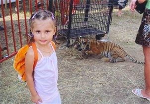В зоопарке - и совсем не страшно