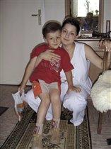 Я с сыном Мишей.