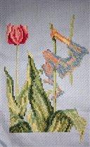 Эльфы на тюльпане