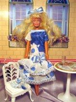 Нарядное платье и сумочка