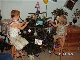 Волшебная елка Алины и Артема