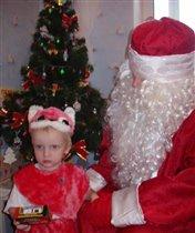 У елки с Дедом Морозом